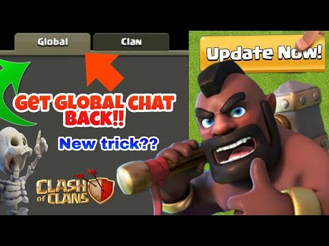 How To Get Global Chat Back In Coc - Coc New Update - Coc New Upcoming Update 2020 - Coc