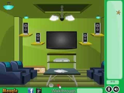 Green Front Room Escape Walkthrough Mougle Games  YouTube