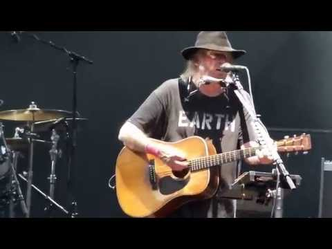 Neil Young  Out on the weekend Klam, Austria Jul 23, 2016