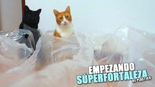 EMPEZANDO SÚPERFORTALEZA DE PLÁSTICO