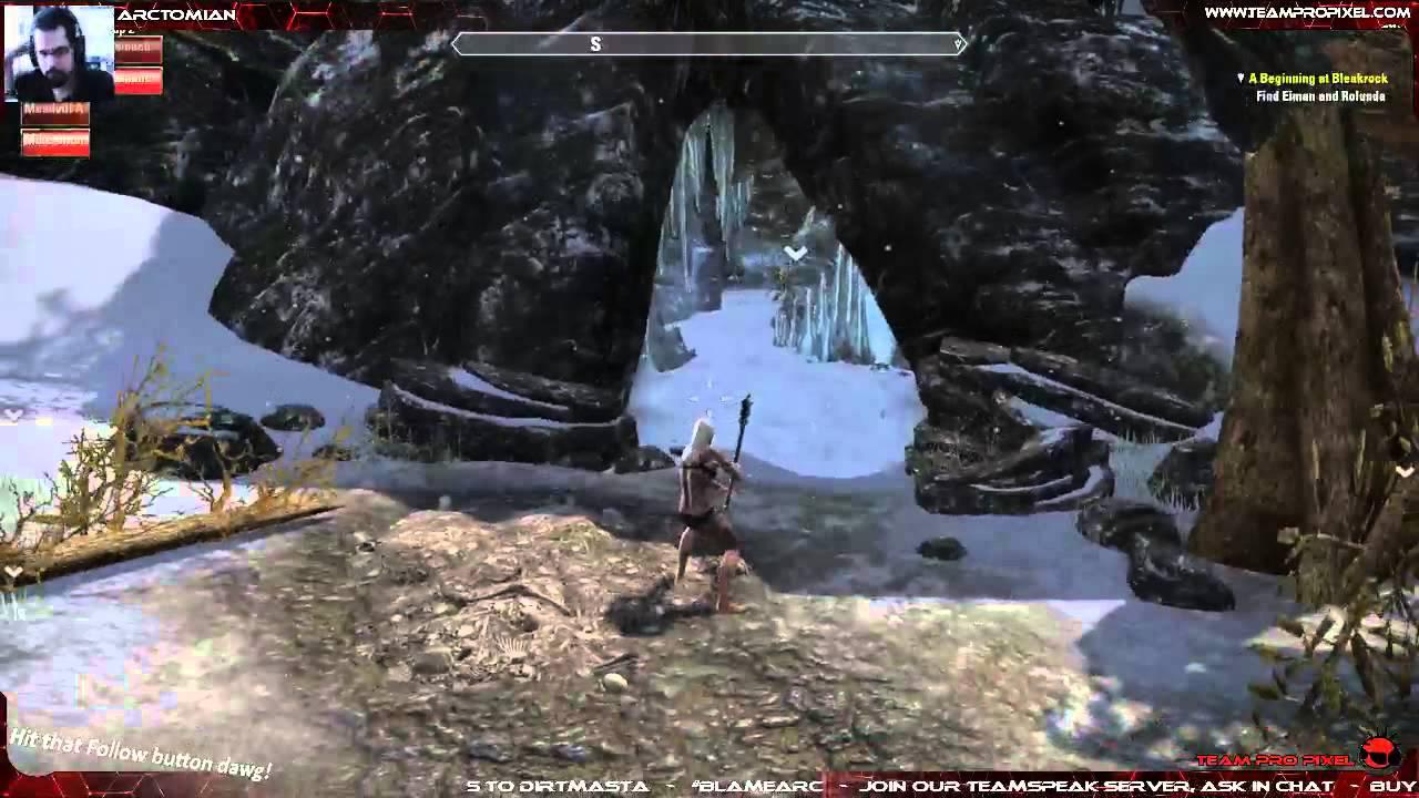 Elder Scrolls Online - Naked Party - YouTube