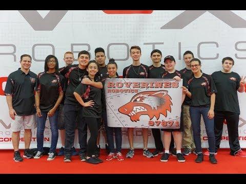 VEX World's 2017 - Roverines 97871 - Newfield High School