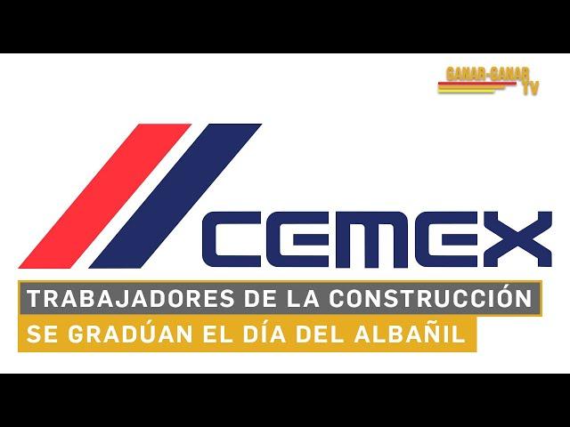 Trabajadores de la construcción se gradúan el Día del Albañil