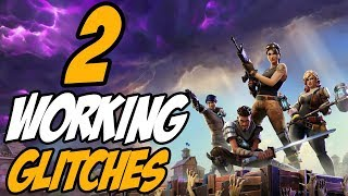 FORTNITE BATTLE ROYALE GLITCHES: 2 WORKING UNDER MAP GLITCHES WALLBREACH FORTNITE GLITCHES