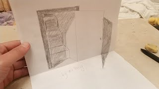 How to draw stairs and doors