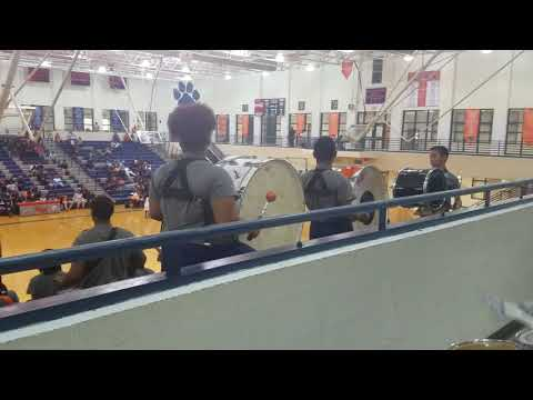 Mundys Mill High School Marching Band (Percussion View) - Hustlin'