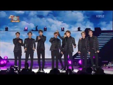 [HD 1080p] 150408 EXO - Overdose + Lucky @ Music Bank In Hanoi