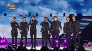 Gambar cover [HD 1080p] 150408 EXO - Overdose + Lucky @ Music Bank in Hanoi