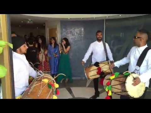 The Dhol Foundation Escort for Arora Wedding in Monaco P1