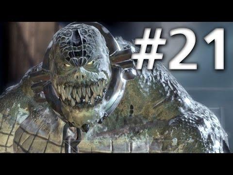Batman Arkham Asylum - Walkthrough - Part 21 - Killer Croc Boss Fight - Road To Batman Arkham Knight