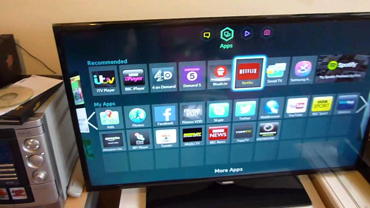 Check out my new tv samsung 40 quot led smart tv youtube