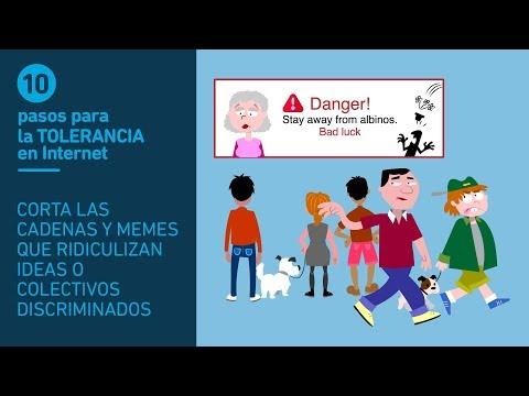 Tolerancia 7/10. Corta las cadenas y memes que ridiculizan ideas o colectivos discriminados