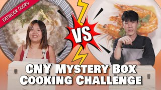 Eatbook CNY Mystery Box Cooking Challenge   Eatbook Cooks   EP 53