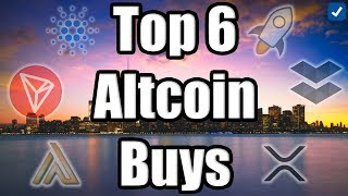 TOP 6 ALTCOINS TO BUY IN JANUARY!!! Best Cryptocurrencies to Invest in Q1 2019! [Bitcoin News]