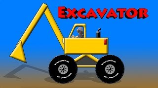 Spell Excavator - Construction Vehicles & Equipment For Kids