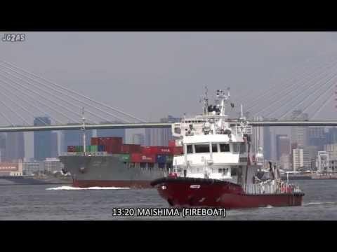 [船] SHIP SPOTTING IN PORT OF OSAKA 大阪港船観記録 2013-MAR-03