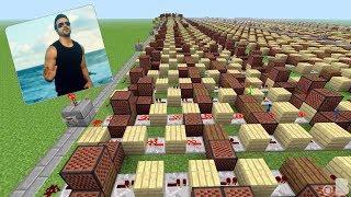 DESPACITO ŞARKISINI MİNECRAFT NOTA BLOKLARIYLA YAPMAK! #Minecraft Video