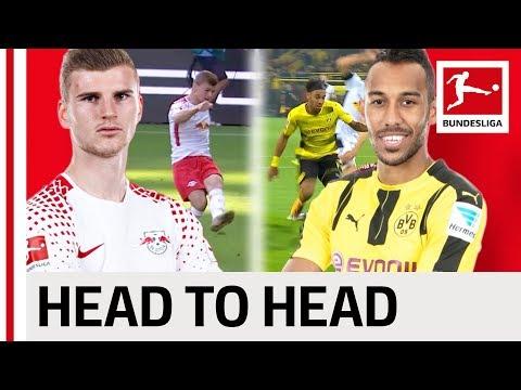Aubameyang vs. Werner - Goalgetters go Head-to-Head