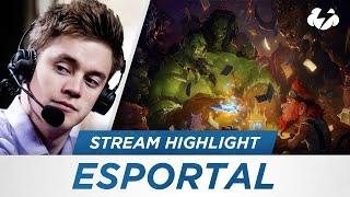 Hearthstone: Funny Reynad Stream Highlights -  Esportal