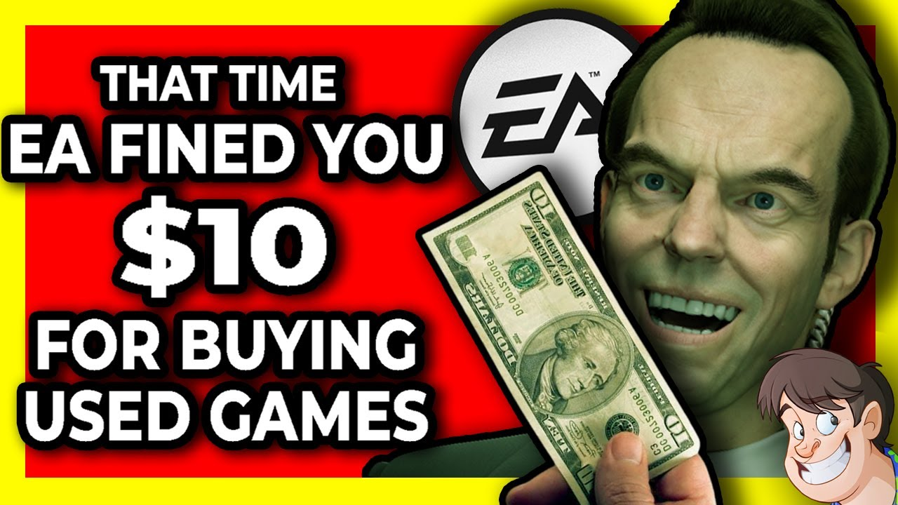 💰 That Time EA Wanted to FINE YOU $10 For Buying a Used Game! | Fact Hunt Special | Larry Bundy Jr