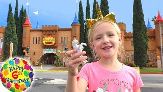 Trinity's 6th Birthday Party at Camelot Castle!! Unicorn Party With...