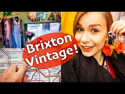 My Life in London  - Vintage shopping in Brixton