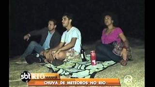 Chuva de meteoros no Rio de Janeiro