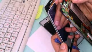 замена LCD touchsсreen на lenovo k900