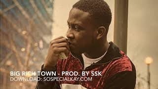 Download Kojo Funds x Nines x Mist  type Afroswing beat; Big Rich Town - Prod. By SSK MP3 song and Music Video