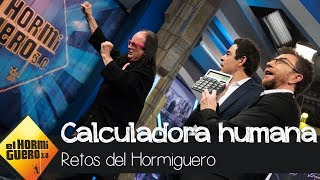 Pablo Chiapella, fascinado con la calculadora humana - El Hormiguero 3.0