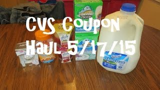CVS Coupon Haul 5/17/15 ~ $0.13 Scrubbing Bubbles & Glade Moneymaker!