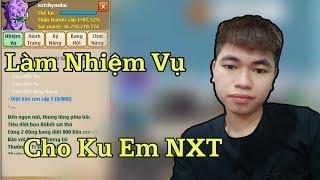 Ngọc Rồng Online Quay Lại Quá Trình Làm Nhiệm Vụ Cho Thằng Bạn Chi Cốt NXT Quá Ghê...