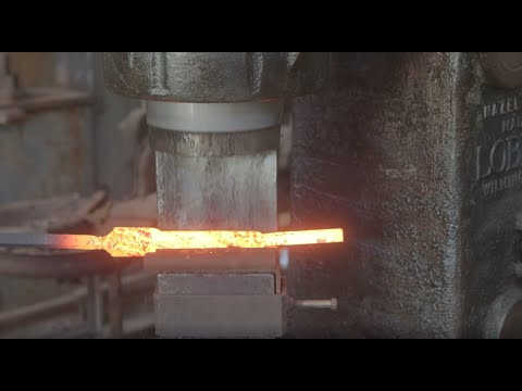 Forging Preview With Kerry Stagmer In The Man At Arms Shop