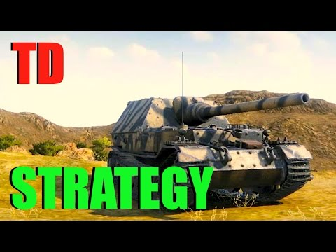 WOT - Tank Destroyer Strategy | World of Tanks