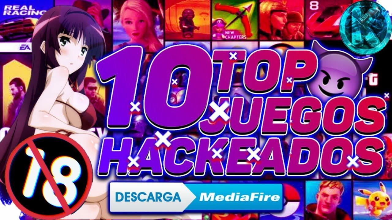 ♨️Top 10 Mejores Juegos Hackeados Para Android (Sin Internet) ¡Última Versión! 2020👌
