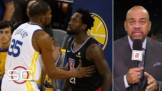 Michael Wilbon on Kevin Durant-Patrick Beverley ejection, Amir Johnson cell phone | SportsCenter