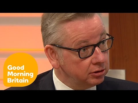 Michael Gove Responds To Brexit Criticism From Stephen Hawking  | Good Morning Britain