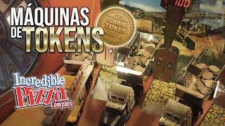 Jugando Máquinas de Tokens en Incredible Pizza - Rapidín en el Arcade