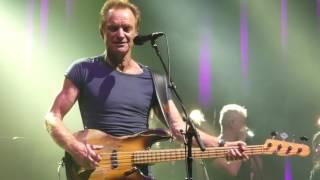 Sting Down, Down, Down Olympia Paris 12/04/2017