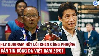 VN Sports 23/1 | Rớt nước mắt với lời chúc Tết của HLV Park,HLV Nishino nhận lương gấp đôi thầy Park