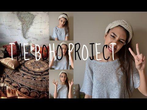 The boho project || Decoración bohemia