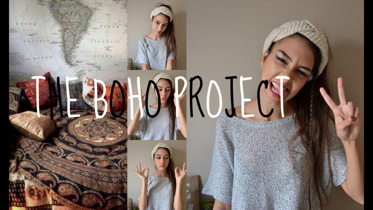 The boho project    Decoración bohemia - YouTube