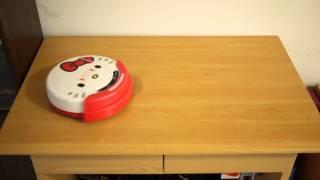 HELLO KITTY掃地機器人影片 2