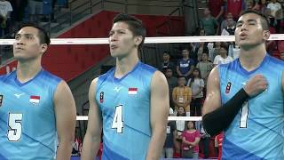 SEA Games 2019: Philippines VS Indonesia Volleyball men's Division
