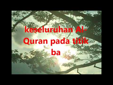 keseluruhan Al Quran pada titik ba