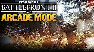 NEW ARCADE MODE: Star Wars Battlefront 2 Offline Game Modes