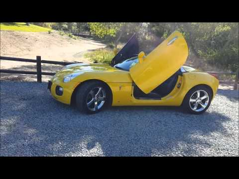 Ed's Pontiac Solstice Before & After Preliminary