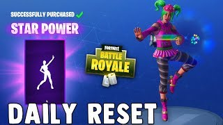 BEST EMOTE IN FORTNITE!! STAR POWER EMOTE!! Fortnite Daily Skin Reset & NEW Items in Item Shop
