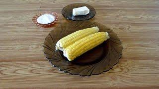 Как сварить кукурузу в микроволновке. Кукуруза в микроволновке. How to cook corn in a microwave oven
