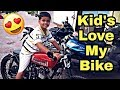 KIDS LOVE MY BIKE | MUMBAI | INDIA
